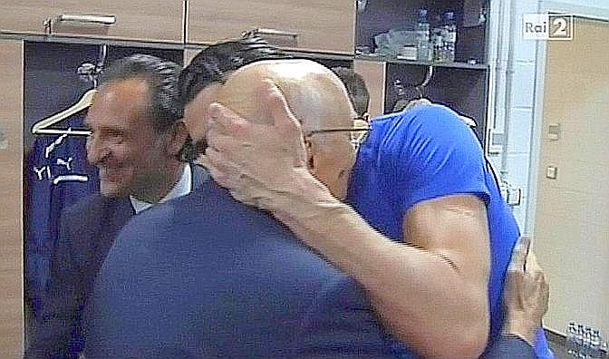Il rigore di Napolitano si sgonfia con il pallone