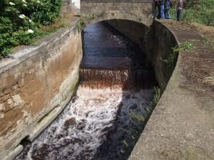 S. Eustacchio, M. S. Severino (Sa), acque inquinate del torrente Solofrana