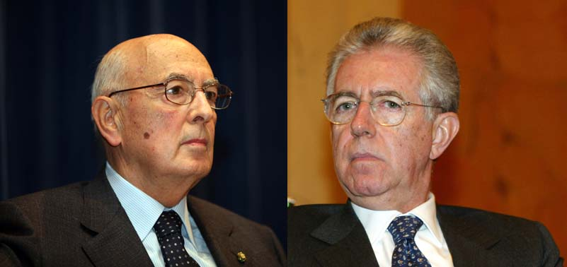 """Monti vede la fine della crisi e rilancia: """"Lo spread sale per colpa dei partiti"""""""