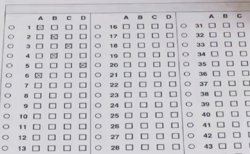 Gli esami TFA non finiscono mai. E pure gli errori di chi li compila