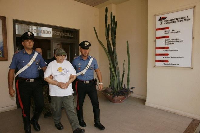 Matrone come Cutolo, arrestato nelle campagne del Sele