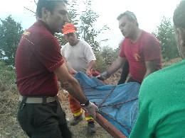 Incendio killer in Campania, un morto e due feriti nel Vallo di Lauro