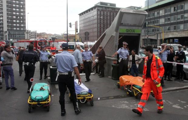 Milano, grave incidente in metropolitana: 11 feriti