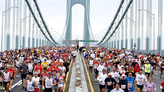 """""""No baggage policy"""" per gli eroi della Maratona di New York"""