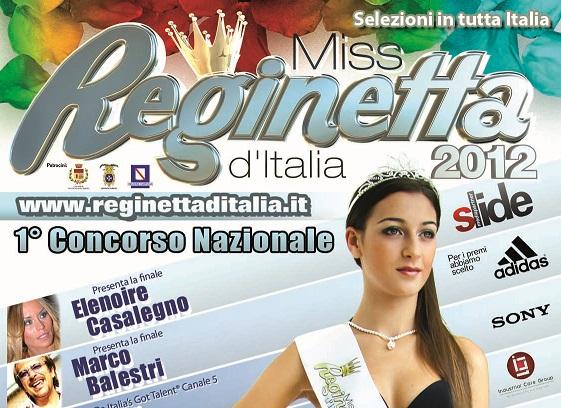 Miss Reginetta d'Italia 2012 a Pontecagnano Faiano