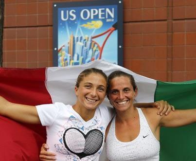 Errani e Vinci nella storia del tennis, trionfo agli Us Open