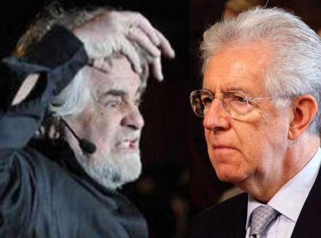 Grillo manda Monti e Berlusconi a quel paese (Barbados)