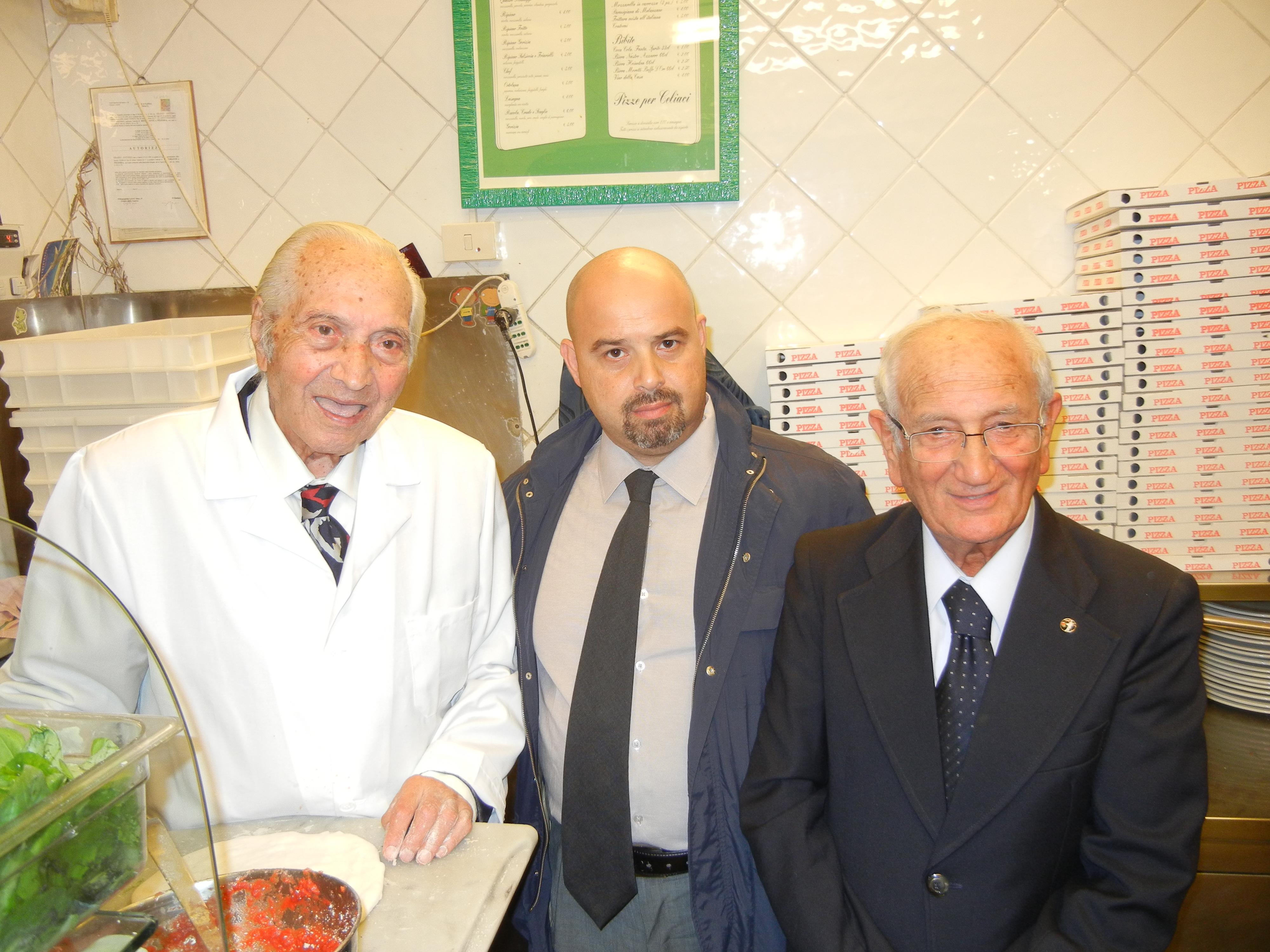 I 50 anni della pizzeria Gorizia, Lopa: «Pizza importante per l'economia»
