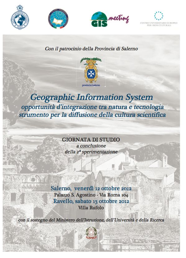 Geographic Information System, due giorni di convegni a Salerno