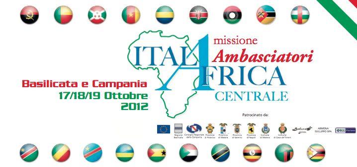 L'Africa a Mezzogiorno: ambasciatori in missione in Campania e Basilicata.