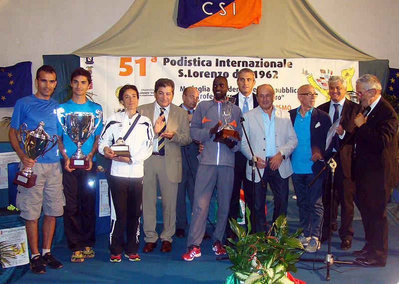 Podistica Internazionale S. Lorenzo, trionfano il keniano Kibor e Claudia Pinna