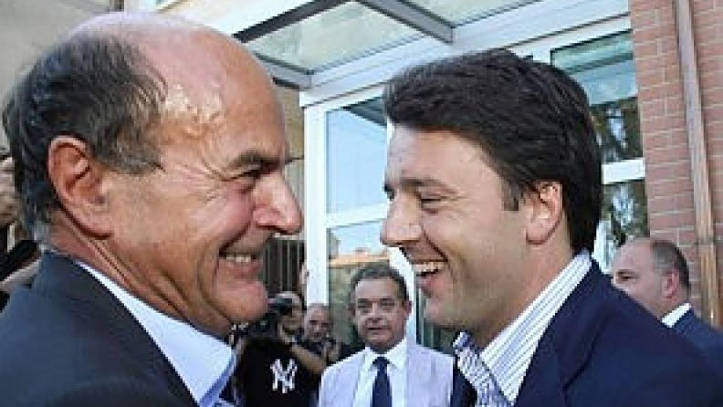 Sondaggio shock: lo sfidante Renzi prevale su Bersani