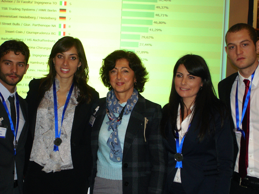 Universiadi Internazionali del Trading, Università di Salerno sul podio