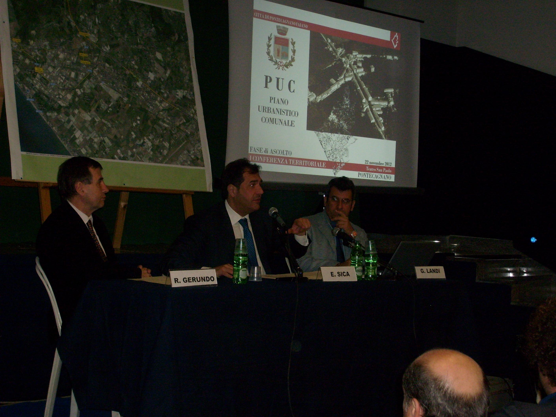 """Puc, al teatro San Paolo confronto con i cittadini di Pontecagnano """"centro"""""""