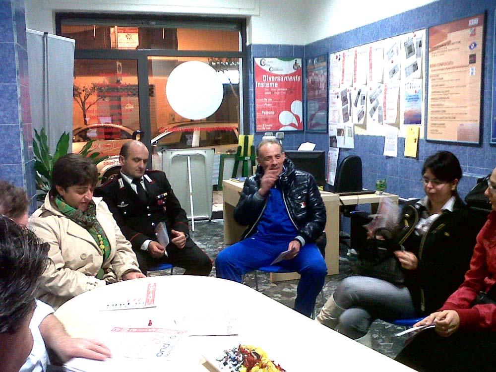 Pontecagnano, il Comandante Ciappina incontra Antenna Sociale