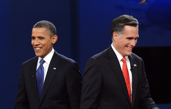 Obama-Romney incollati, ma il presidente resta favorito