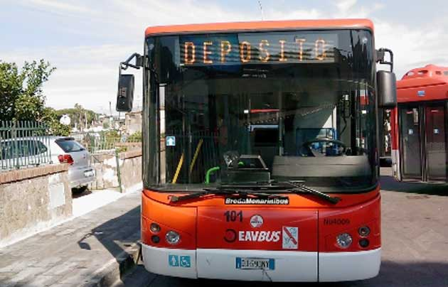 EavBus, dalla Regione 4,5 milioni per stipendi e carburante