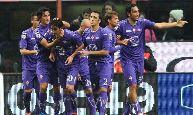 Poker della Fiorentina che raggiunge il Napoli al terzo posto