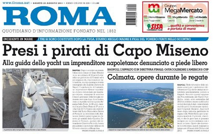 Denunce e sequestro al quotidiano Roma per i fondi per l'editoria