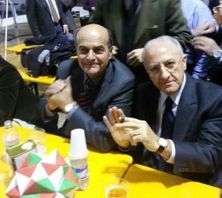 De Luca: con noi ha vinto Bersani, deve cambiare tutto