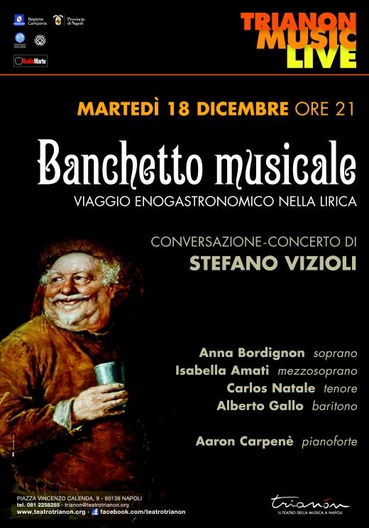 Al Trianon, si brinda con la lirica nel «Banchetto musicale» di Stefano Vizioli