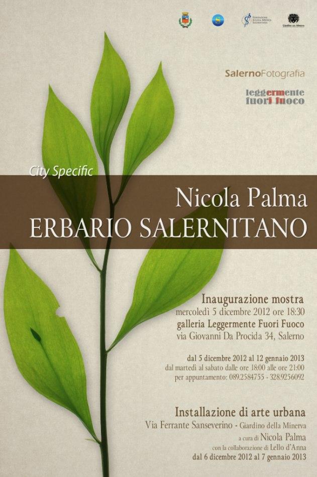 """Mostra fotografica """"Erbario salernitano"""" di Nicola Palma"""