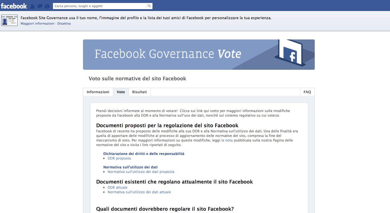 """Facebook, sta per scadere il """"referendum"""" indetto tra gli utenti"""