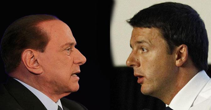 Renzi a Berlusconi: «Grazie ma puoi chiudere la porta»