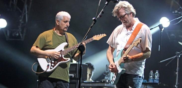 Nuovo reparto al Pausillipon grazie a Eric Clapton e Pino Daniele