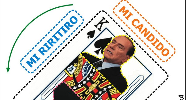 Silvio e la politica grottesca, meglio tacere…