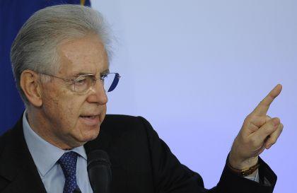 Monti: dopo aver salvato l'Italia, recuperiamo la politica