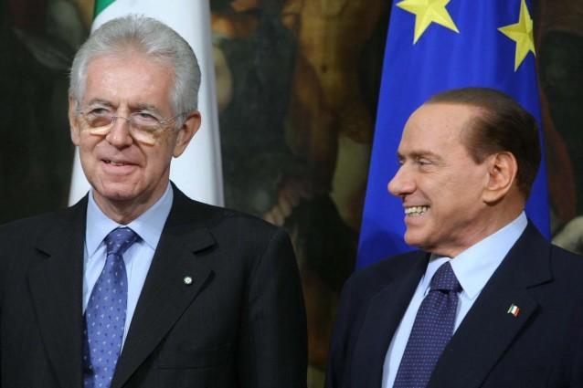 Monti non scioglie la riserva ma Berlusconi incalza