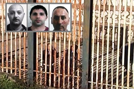 Arrestati i tre fuggitivi dal carcere di Avellino, caccia ai complici