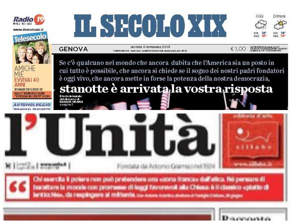 Tragedia dei giornali: sciopero all'Unità, tagli al Secolo XIX