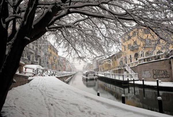 """In arrivo """"la tempesta dell'Immacolata"""": neve, gelo e vento"""