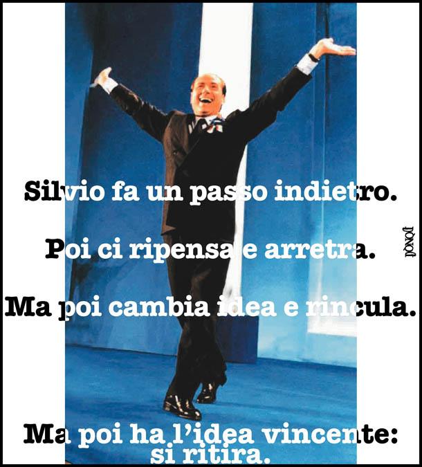 Il sogno di Silvio? Danzare sulle punte …
