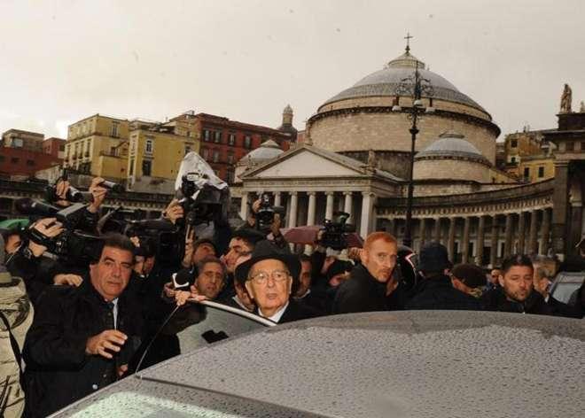 Napolitano al Gambrinus di Napoli sogna un 2013 di crescita