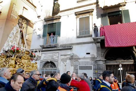 """Castellamare, San Catello non """"omaggia"""" più il boss"""