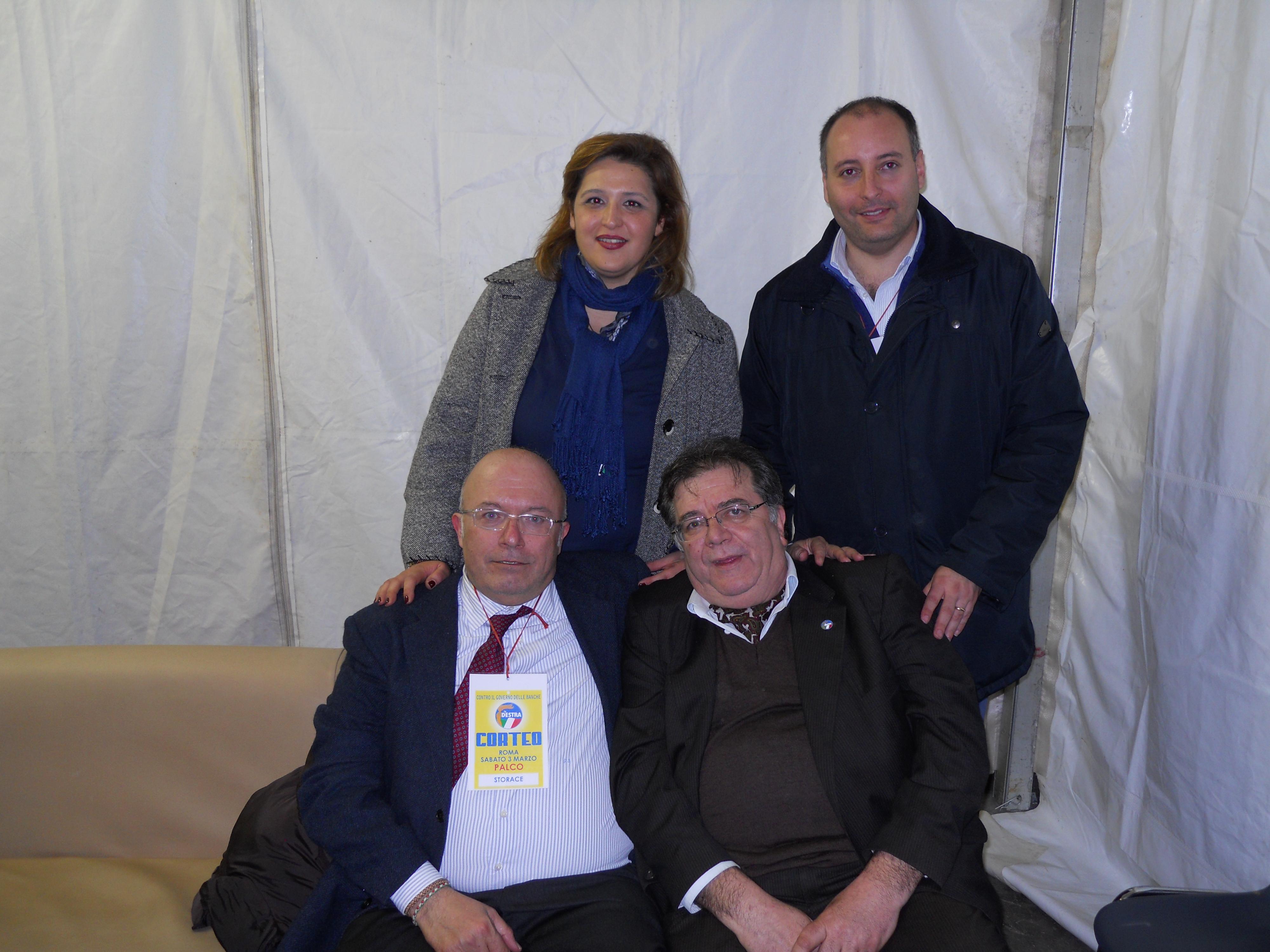 """Elezioni 2013, ecco i candidati de """"La Destra"""" in Campania"""