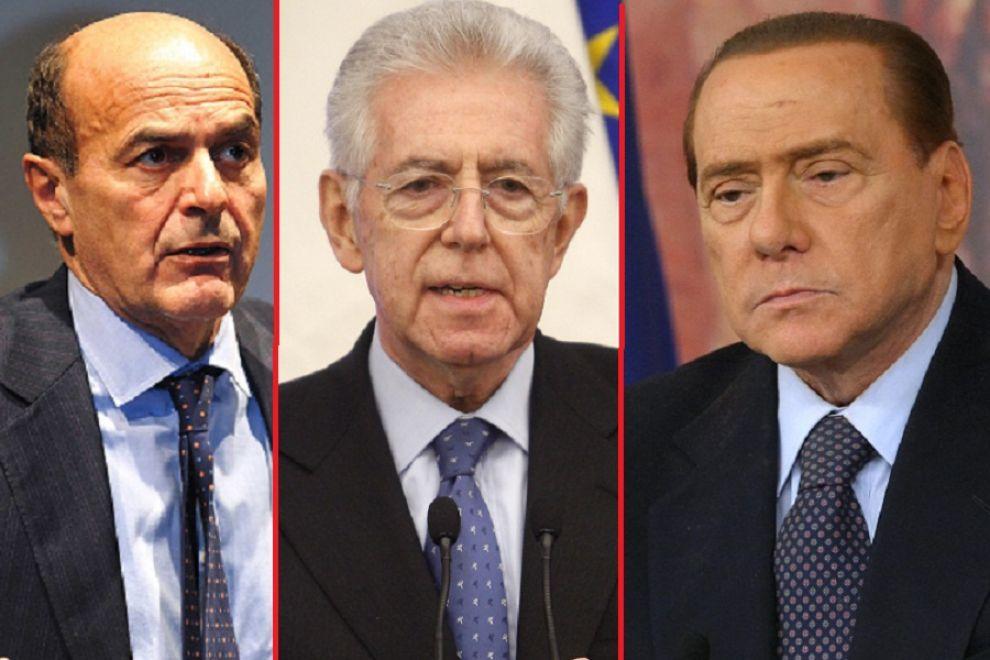Verso il voto, tre fuori programma: Mussolini, terremoto e Mps