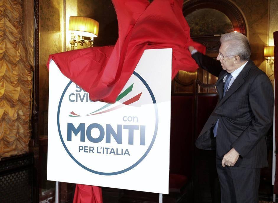Un'altra novità di Monti: un simbolo con il proprio nome