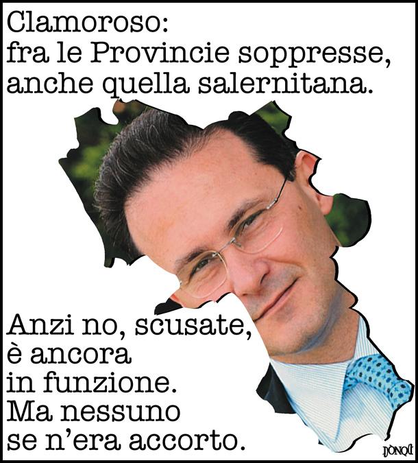 Provincia di Salerno, se l'ente inutile è anche invisibile