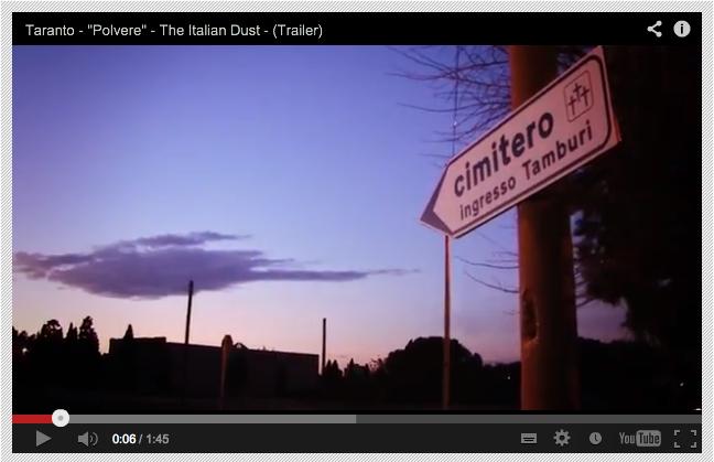 Polvere, il documentario sull'Ilva di Taranto: sostieni il progetto