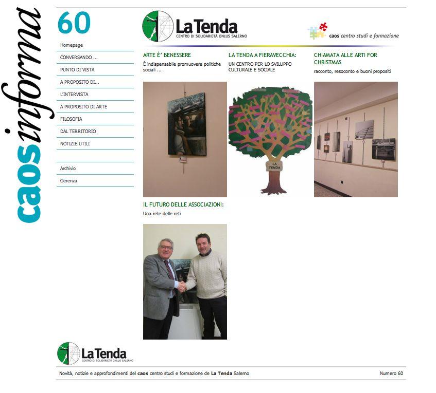 """Informazioni dal centro """"La Tenda"""" di Salerno"""