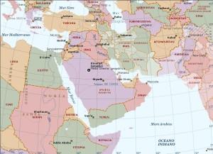 mappa_medio_oriente_politica