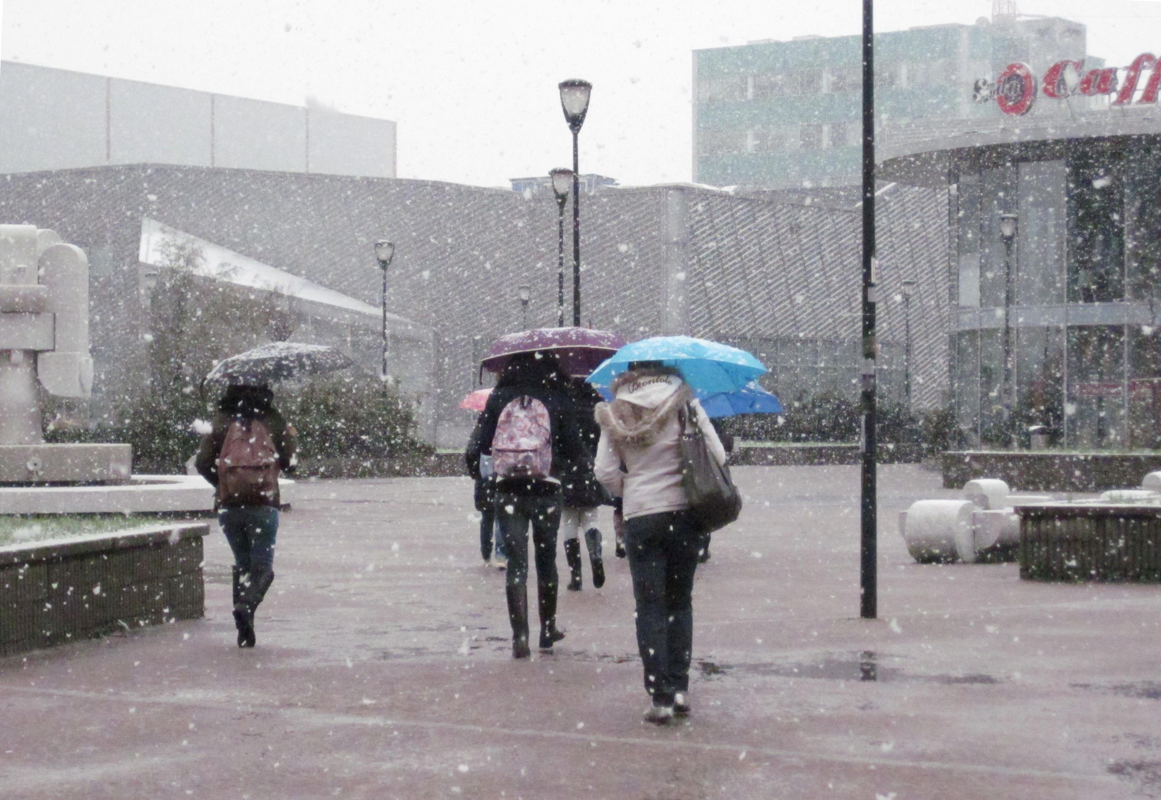 Crollo delle temperature e neve in arrivo al Centrosud