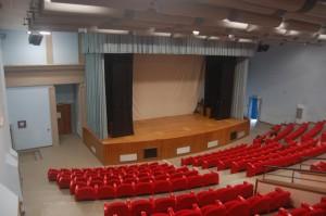 Auditorium Parmenide. Interno