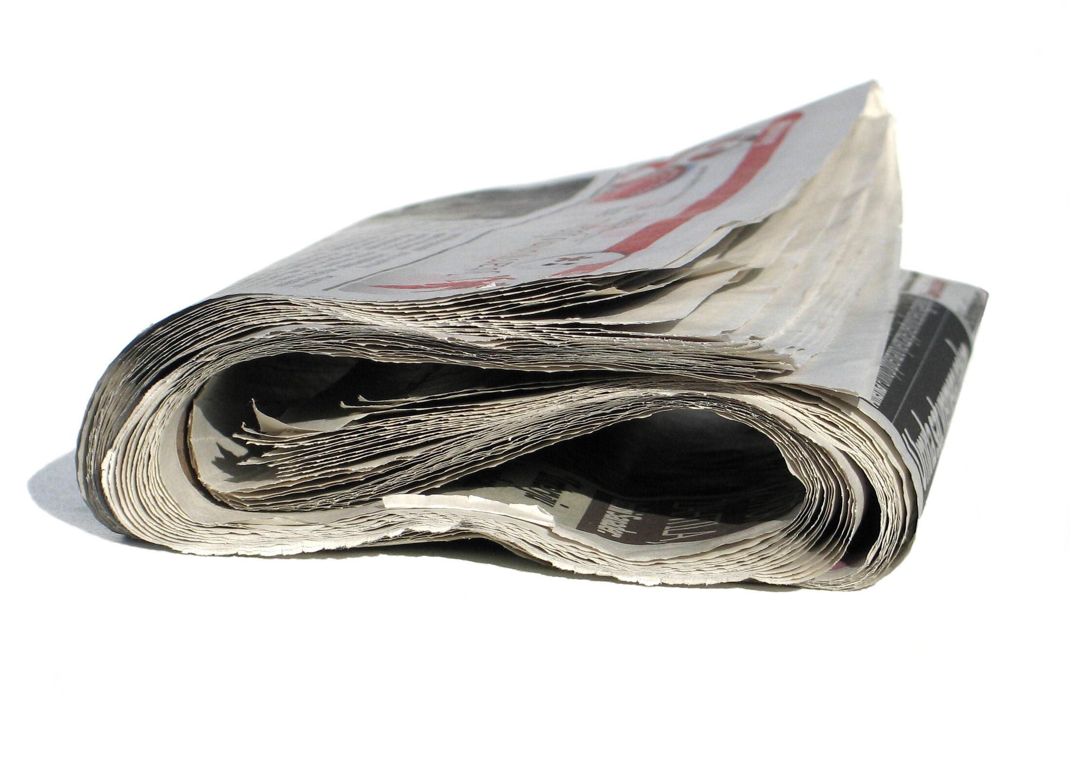 Sui giornali italiani pubblicità in picchiata: -17%