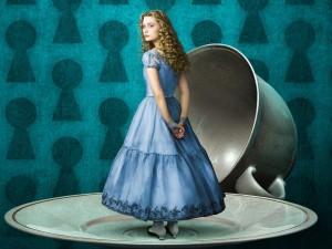 Alice nel Paese delle Meraviglie - dal film omonimo Mia Wasikowska - JPEG