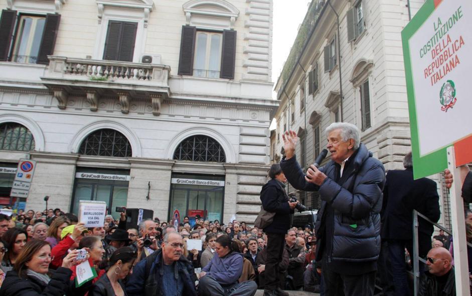 """L'Italia dei """"vecchi"""" di Micromega contro la patria dell'Inciucio"""